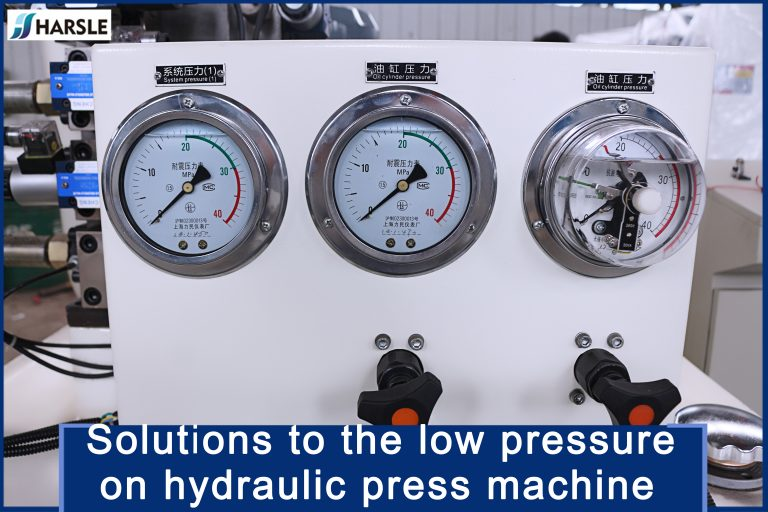 small hydraulic press machine low pressure of Solutions